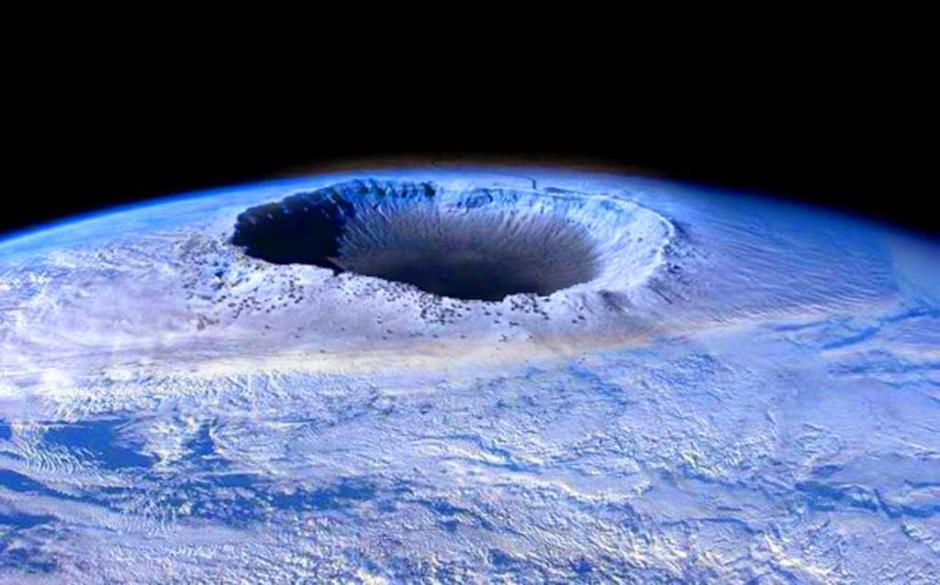 Según la teoría en dicho video, los polos de la Tierra sufrirán cambios que harán imposible la vida de los seres humanos