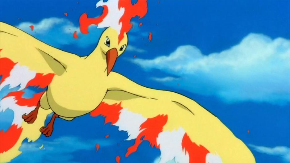 El ave legendaria Moltres. (Foto: pokemon.wikia.com)