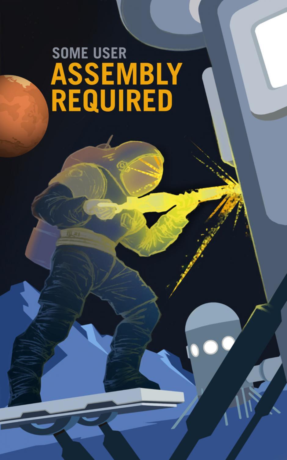 """""""Se requerirá ensamblarlo"""" (Foto: NASA)"""