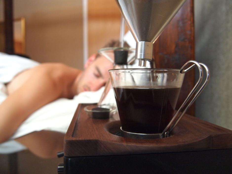 Despertar temprano cada mañana puede ser duro, por eso Josh Renouf creó The Barisieur. (Foto: joshrenoufdesign.com)
