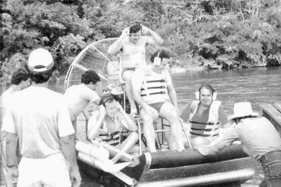 Lanchas súper rápidas al servico de Pablo Escobar. (Foto: El Heraldo)
