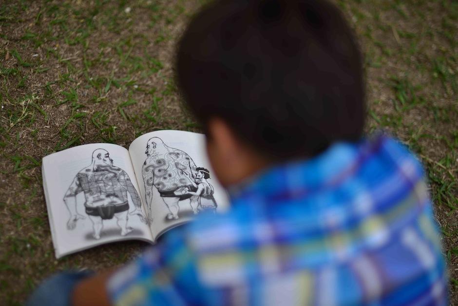 """El evento rinde homenaje al """"Día internacional del libro Infantil y juvenil"""". (Foto: Jesús Alfonso/Soy502)"""