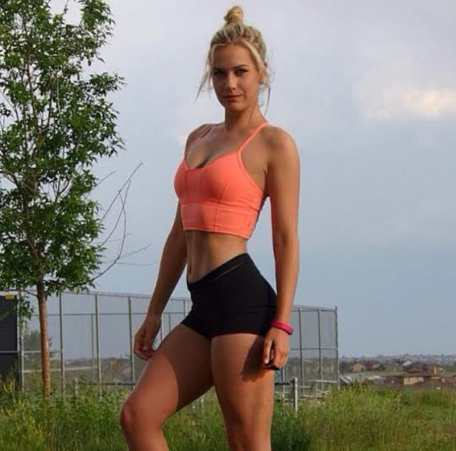 Paige tiene mucha disciplina y se esfuerza para mantenerse en forma.(Foto: Paige Spiranic)