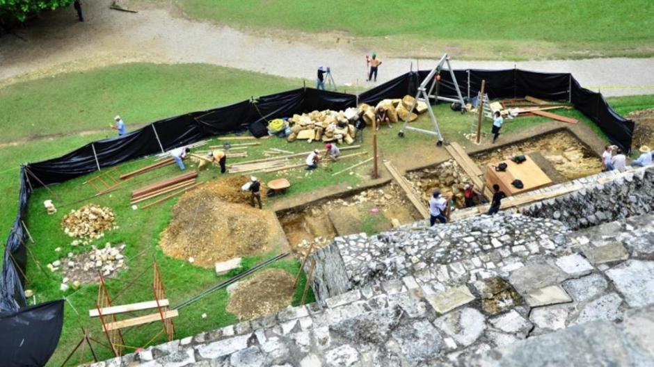 El hallazgo supone un cambio en la tesis original de que la cámara funeraria del rey Pakal. (Foto: INAH)