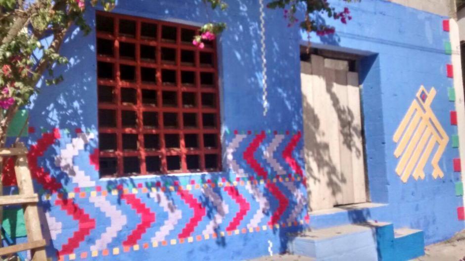Así luce cada casa en Santa Catarina Palopó. (Foto: Hessler Carías)