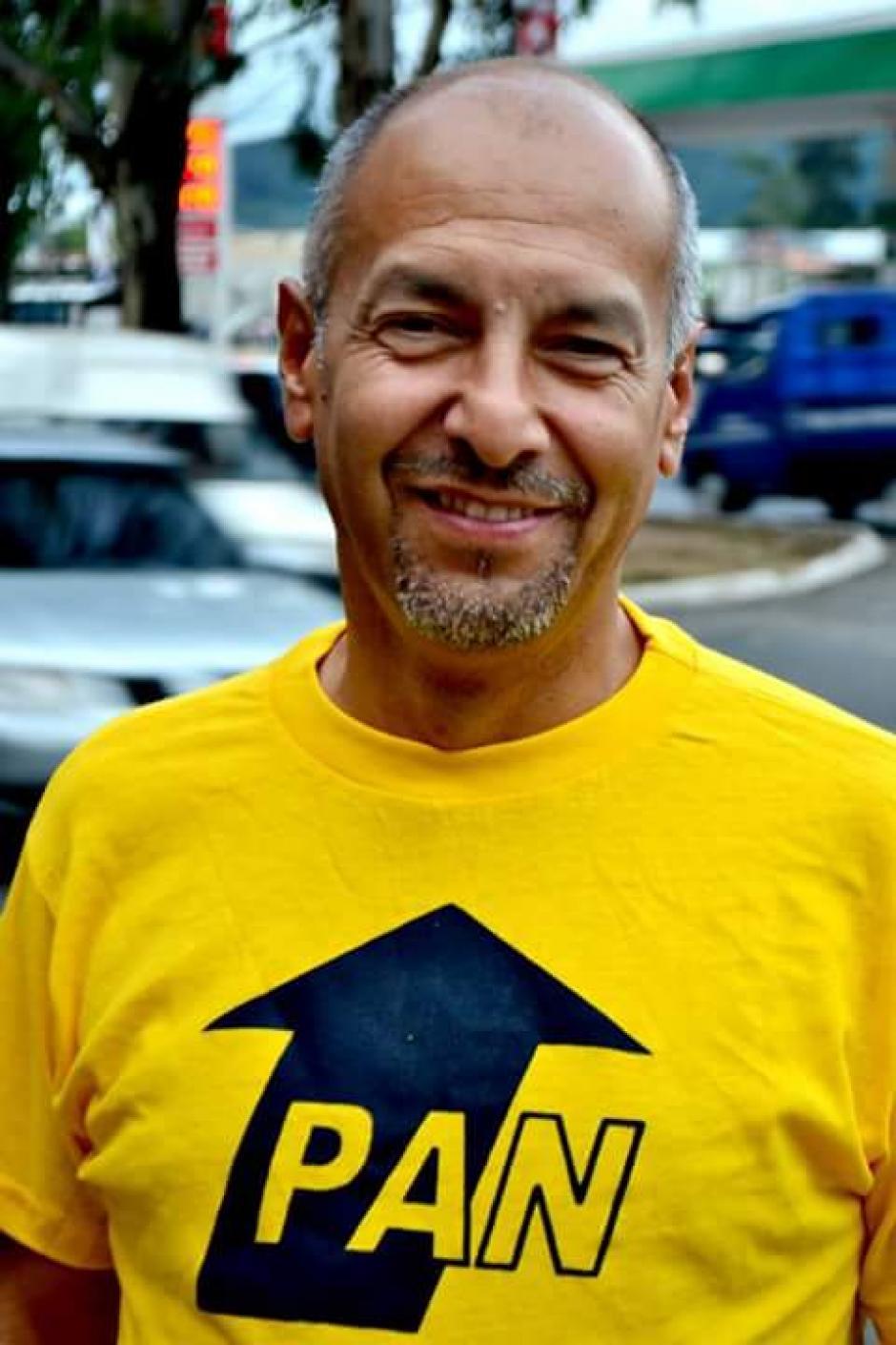El Partido de Avanzada Nacional delegó a Manuel Rodas para que logre ser el alcalde de Mixco. (Foto: Manuel Rodas)