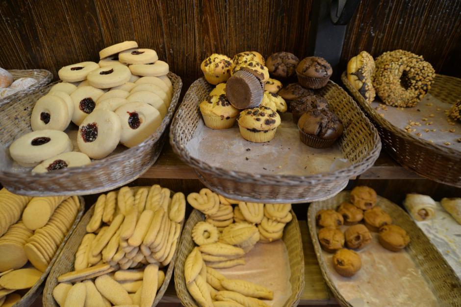 El pan fresco está a disposición de los consumidores. (Foto: Wilder López/Soy502)
