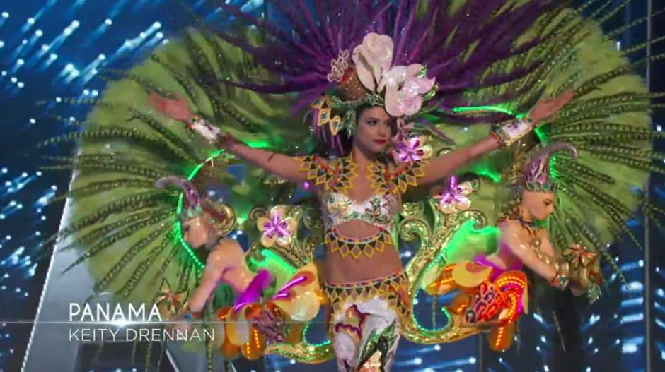 Panamá también llegó colorida. (Foto: captura de pantalla)