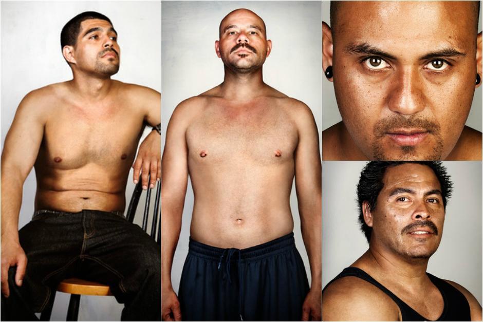 Los exintegrantes de pandillas se sorprendieron al verse sin tatuajes. (Foto: Steven Burton)