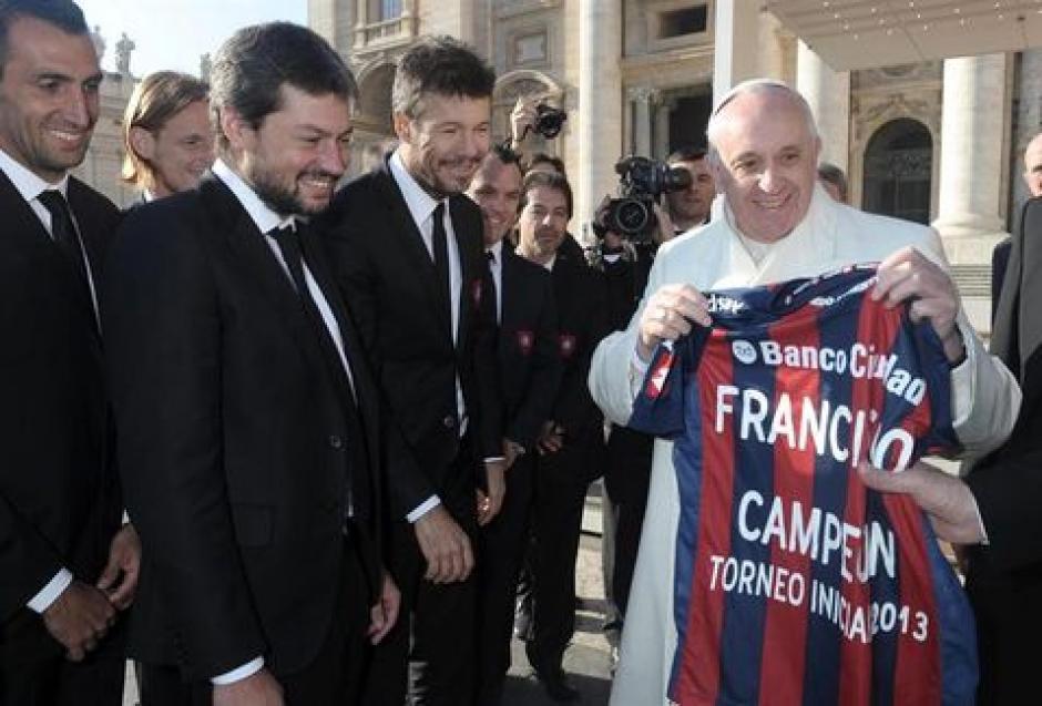 San Lorenzo el equipo del papa Francisco