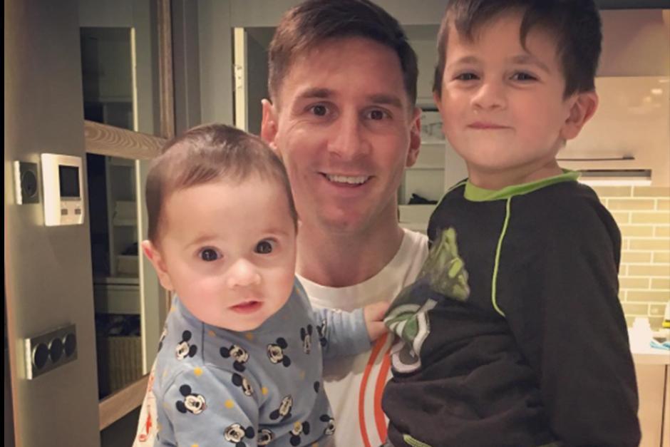 La pareja de Messi Antonella Roccuzzo publicó la foto en su Instagram. (Foto: Instagram)