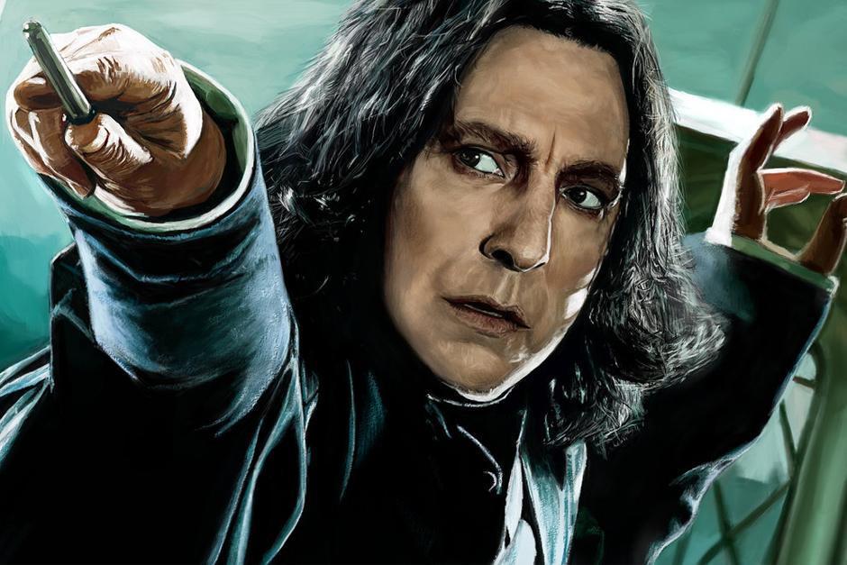 "Severus Snape en ""Harry Potter""."