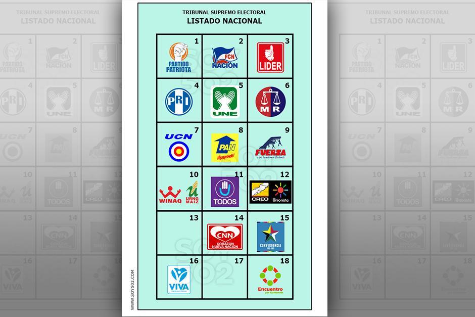 Con la papeleta verde, se escoge a los diputados por Listado Nacional. (Imagen Javier Marroquín/Soy502)