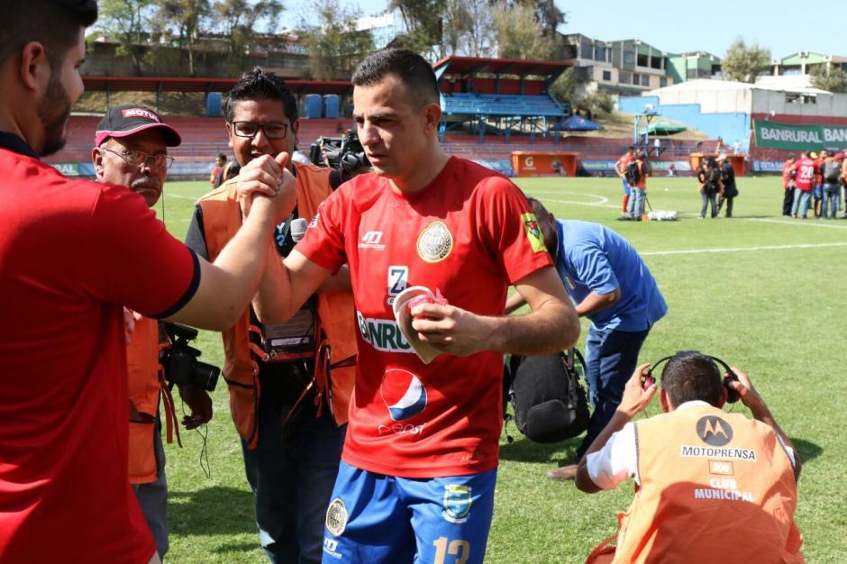 Expresó que la marcación del rival fue buena. (Foto: Alejandro Balan/Soy502)