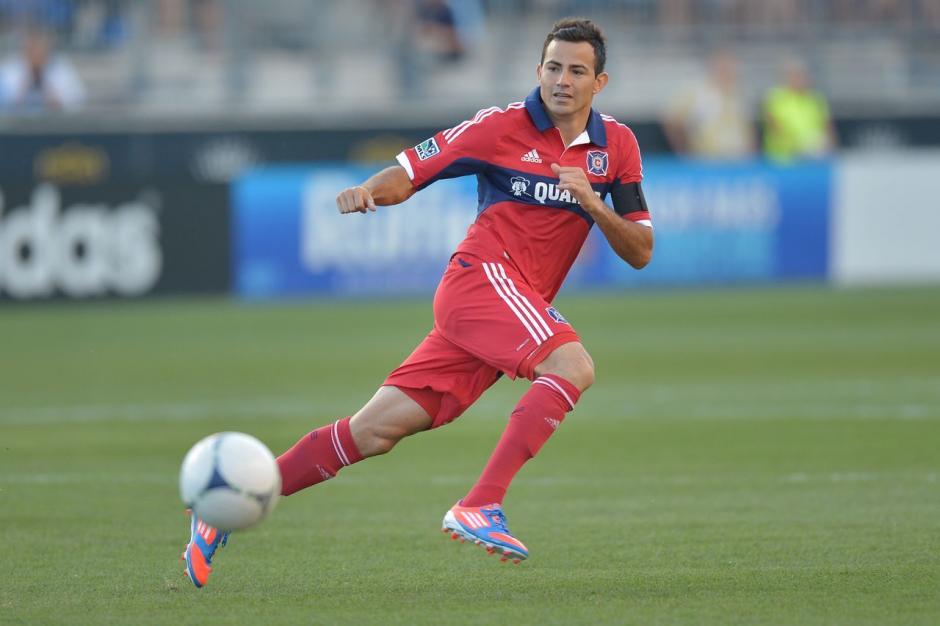 Pappa debutó en el futbol internacional con el Chicago Fire de la MLS. (Foto: Twitter)