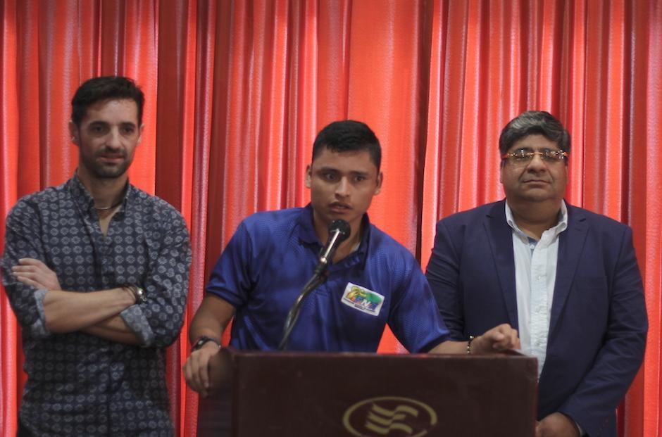 Erick Barrondo espera mejorar y conseguir resultados positivos con su nuevo entrenador. (Foto: Luis Barrios/Soy502)