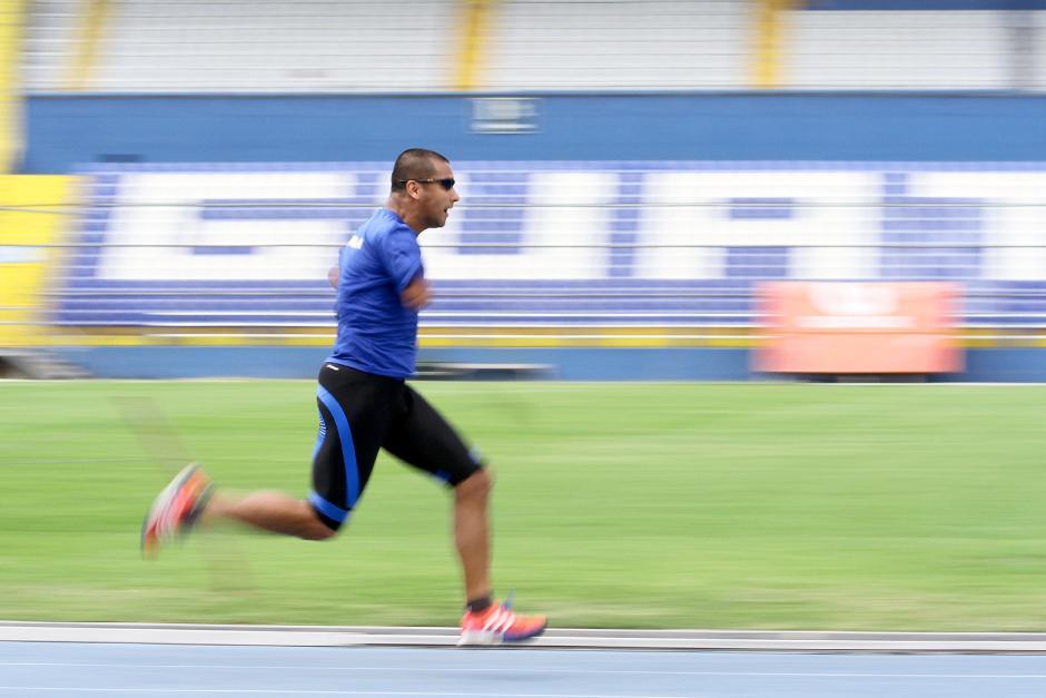 Raúl Pérez, es un velocista guatemalteco que aspira a clasificarse a los Juegos Paralímpicos Río 2016. (Foto: Luis Barrios/Soy502)