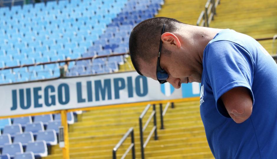 Raúl Pérez ve con optimismo la vida y lucha por él y su familia. (Foto: Luis Barrios/Soy502)