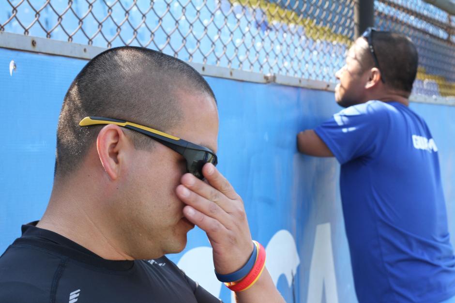 Más que compañeros, grandes amigos, Brayan Solares y Raúl Pérez, atletas paralímpicos guatemaltecos. (Foto: Luis Barrios/Soy502)