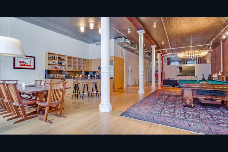 Es un lujoso loft que cuenta con pisos de madera. (Foto: Cityrealty.com)