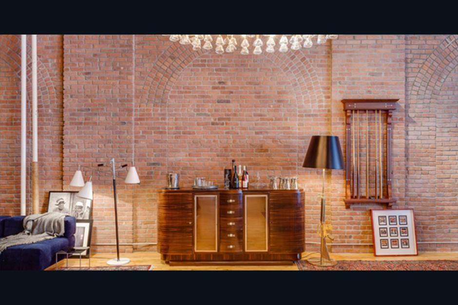 El nuevo apartamento es de paredes de ladrillo. (Foto: Cityrealty.com)