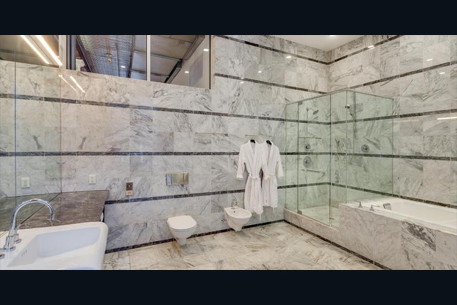El baño es un lujoso lugar de relajación. (Foto: Cityrealty.com)