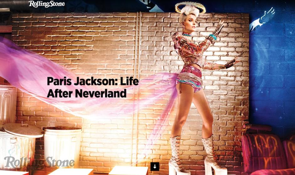 Paris Jackson fue entrevistada por Rolling Stone. (Foto: Rolling Stone)