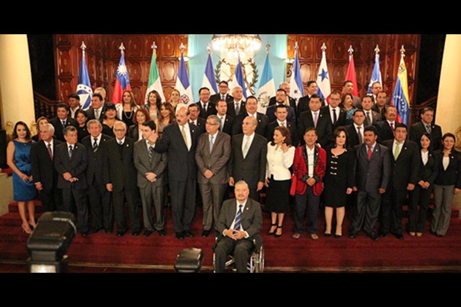 Othmar ocupaba la primera casilla del listado de candidatos a diputados al Parlacen por FCN Nación.(Foto: Parlacen)