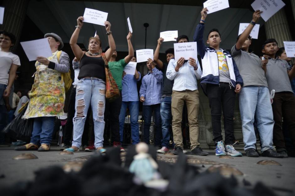 Esta semana la indignación ha llegado fuera de las fronteras. (Foto: Wilder López/Soy502)