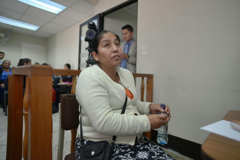 Albertina Recancoj era la madre de uno de los niños maltratados. (Foto: Wilder López/Soy502)