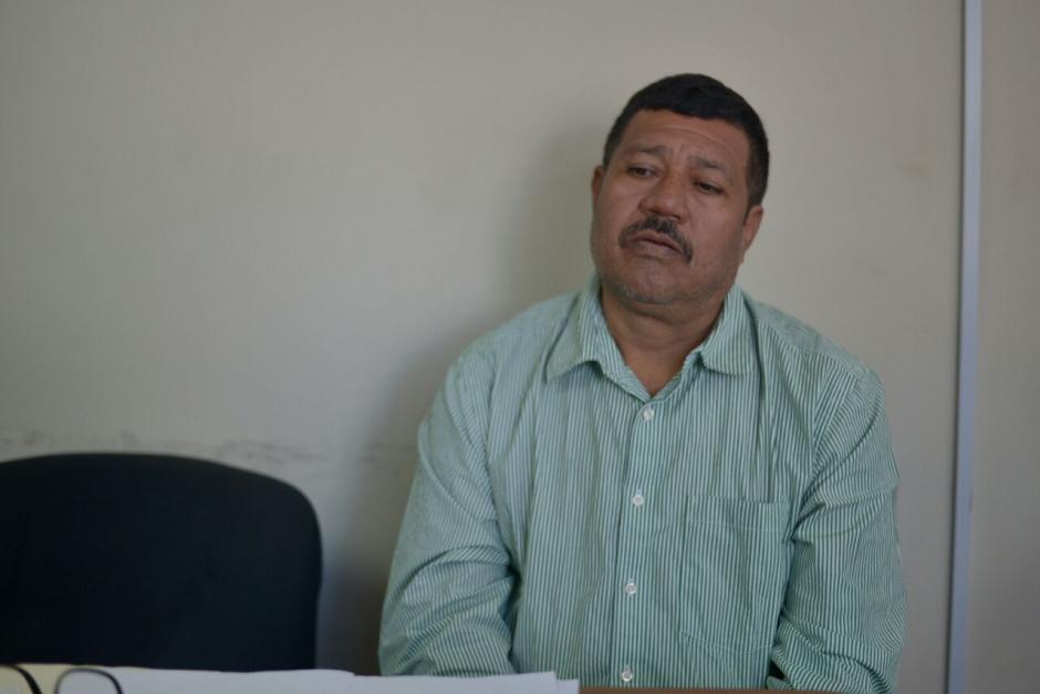 Marciano Rivera era el padrastro de uno de los niños fallecidos. (Foto: Wilder López/Soy502)