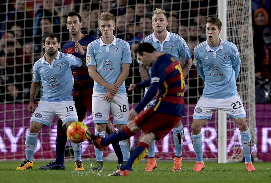 Lionel Messi convirtió un gol y contribuyó con asistencias para los otros tantos azulgranas. (Foto: AFP)