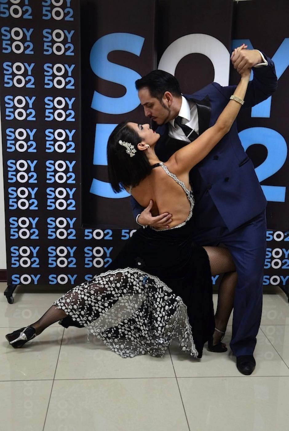 """Todos integran la compañía argentina """"Pasión, amor y tango"""". (Foto: Selene Mejía)"""