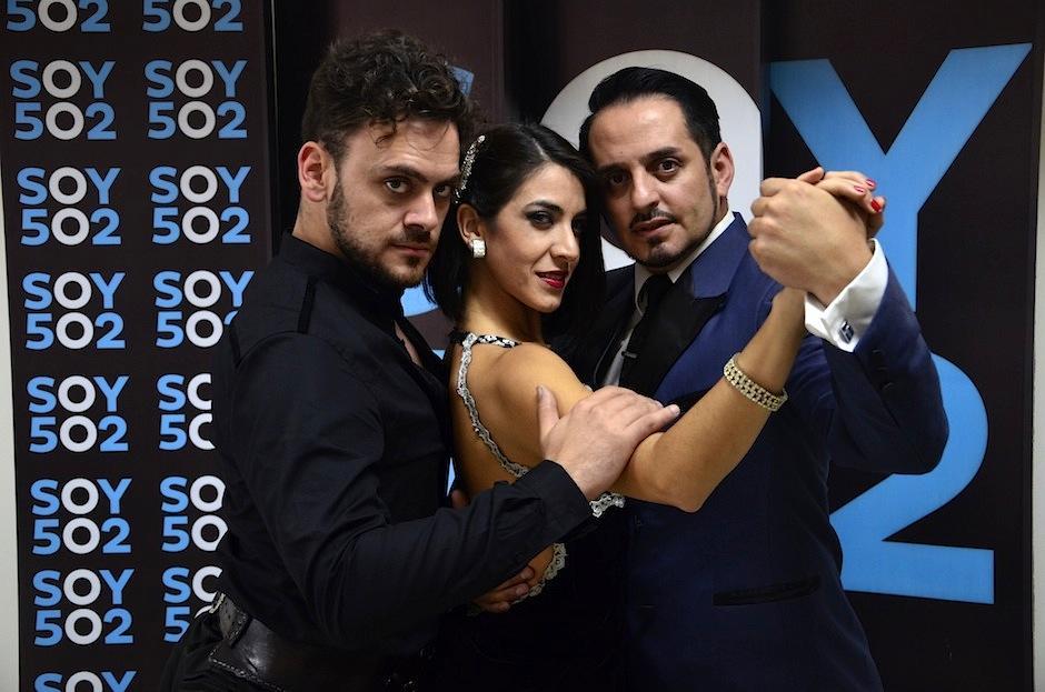 Lisandro, Belén e Ismael visitaron Soy502 mostrando su talento. (Foto: Selene Mejía/Soy502)