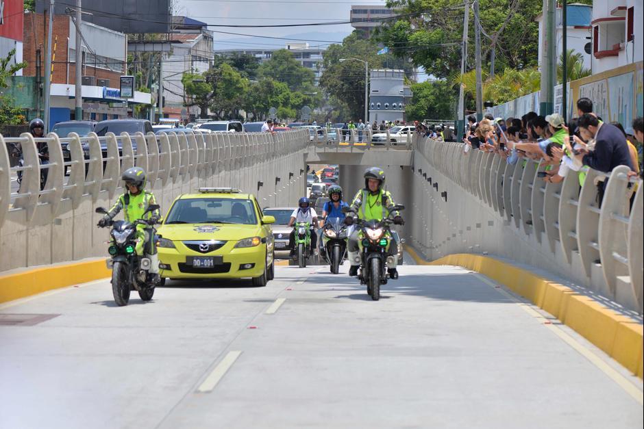 Los pasos a desnivel que se construyeron en 2016 tienen un promedio de inversión de 20 millones de quetzales. (Foto: Wilder López/Soy502)