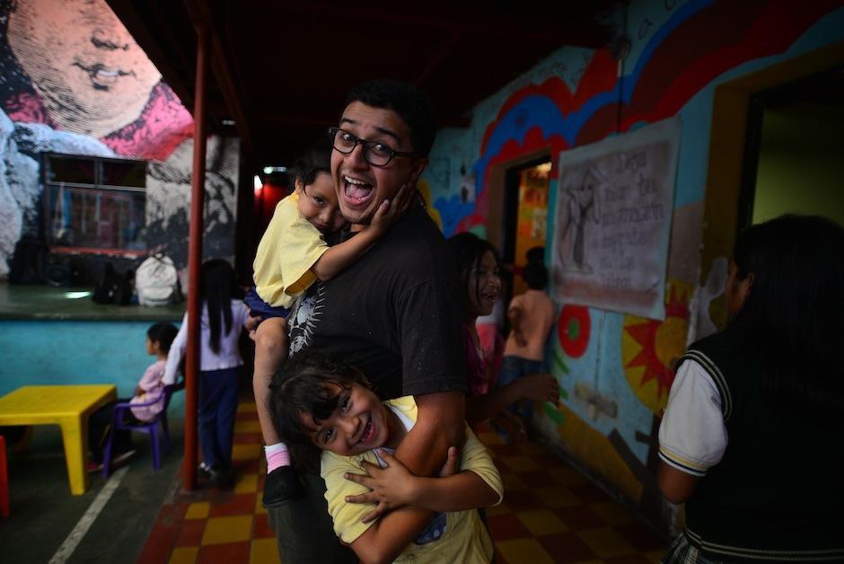 Juan Pablo Romero, el visionario cuya esperanza por Guatemala le motivó a trabajar por los niños. (Foto: Wilder López/Soy502)
