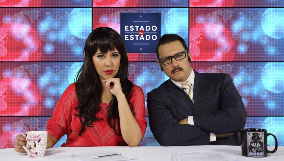 Patricia Delahós y Ricardo Castró son los personajes que nos muestran las noticias de una manera satírica. (Foto: César León/Estado del Estado)