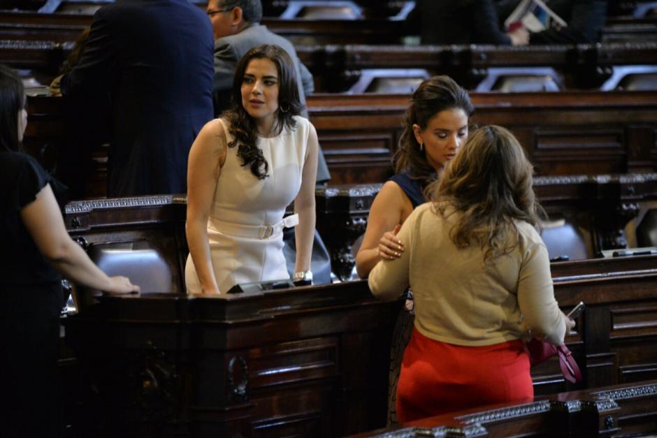 Patricia Sandoval podría ser separada de la bancada FCN. (Foto: Wilder López/Soy502)