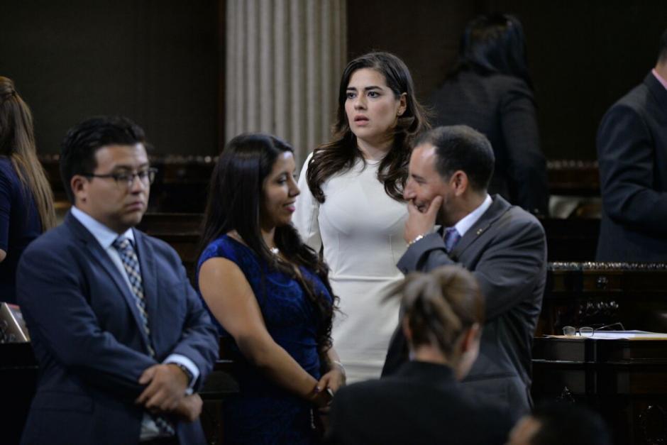 Patricia Sandoval fue electa por el partido Todos y se pasó a FCN. (Foto: Wilder López/Soy502)