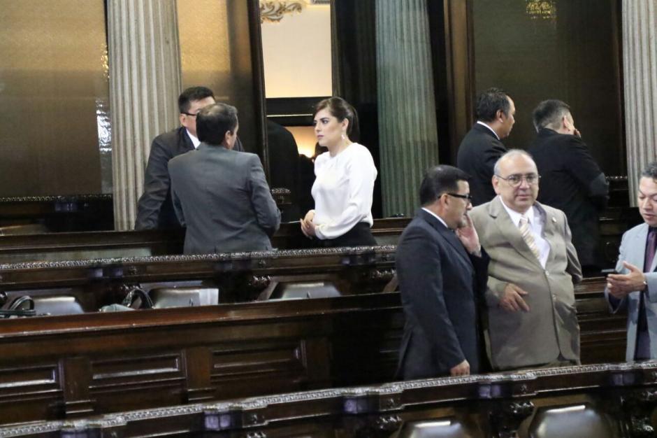 La legisladora podría ser expulsada de FCN. (Foto: Alejandro Balán/Soy502)