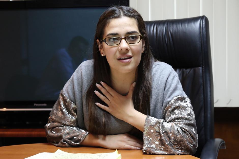 La parlamentaria dice no tener comunicación con su exesposo desde hace 7 años. (Foto: Alejandro Balán/Soy502)