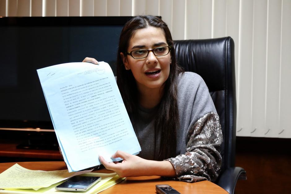 La diputada dice desconocer qué hacía su exesposo previo a casarse con ella. (Foto: Alejandro Balán/Soy502)