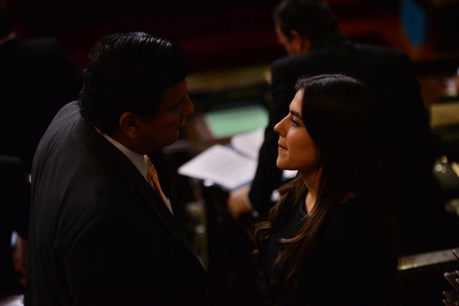 La parlamentaria fue propuesta por su bancada para ser vicepresidenta del Congreso. (Foto: Archivo/Soy502)