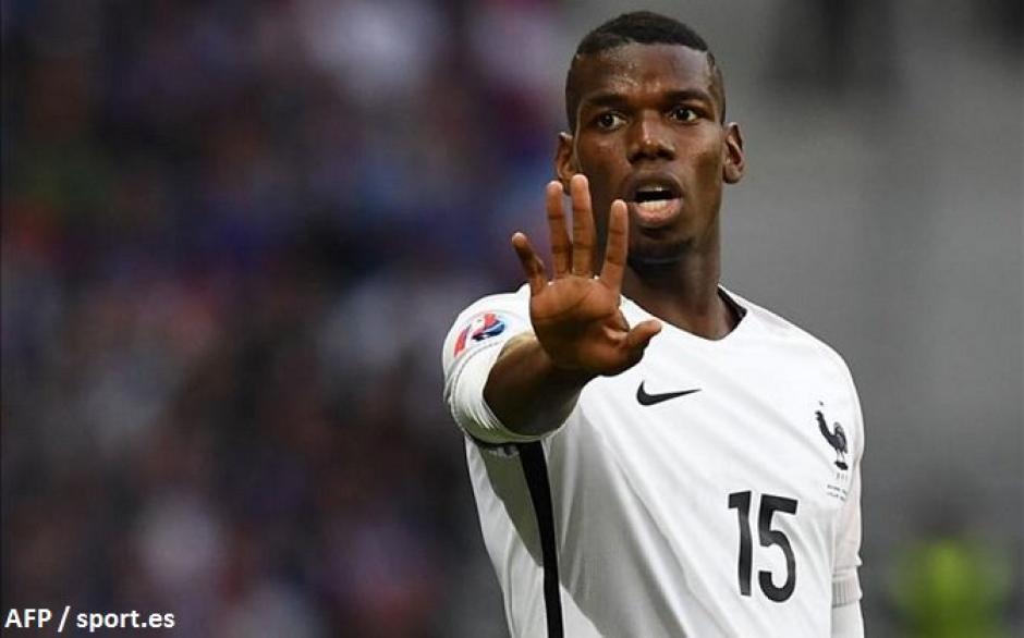 Pogba habría firmado con el Manchester United por 105 millones de euros. (Foto: EFE)