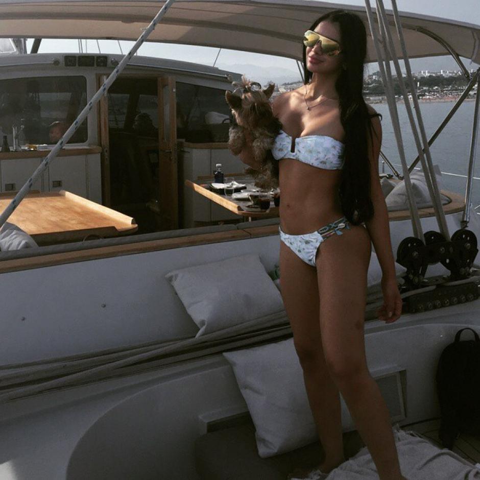 Paula se la pasó sus vacaciones en Ibiza igual que CR7. (Foto: Paula Suárez G)