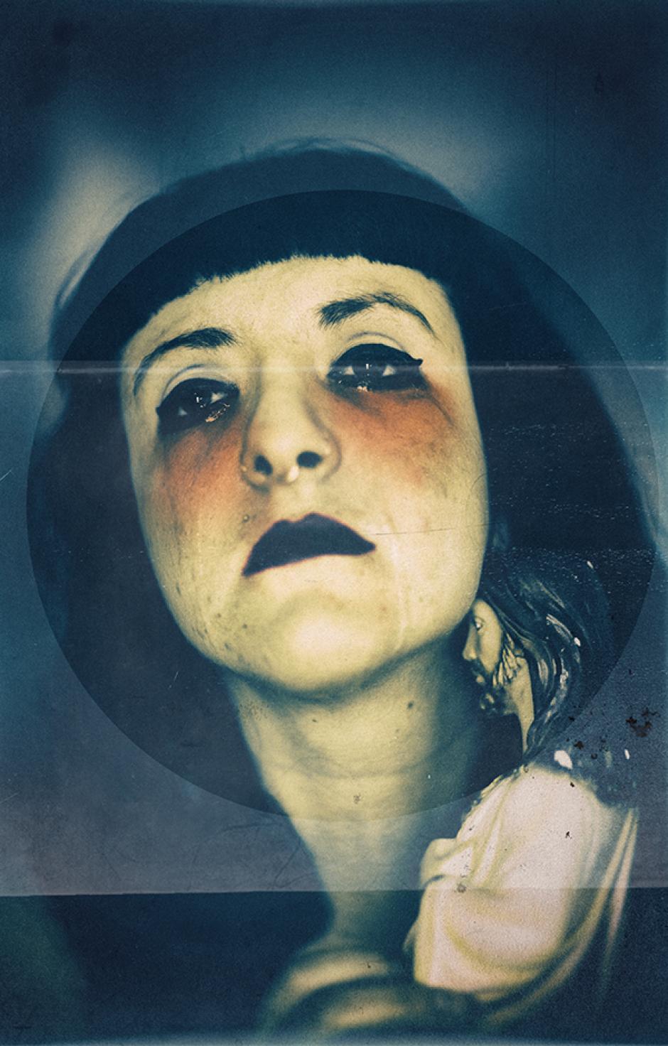 Los autoretratos de Paula Morales expresan mucho. (Foto: Paula Morales)