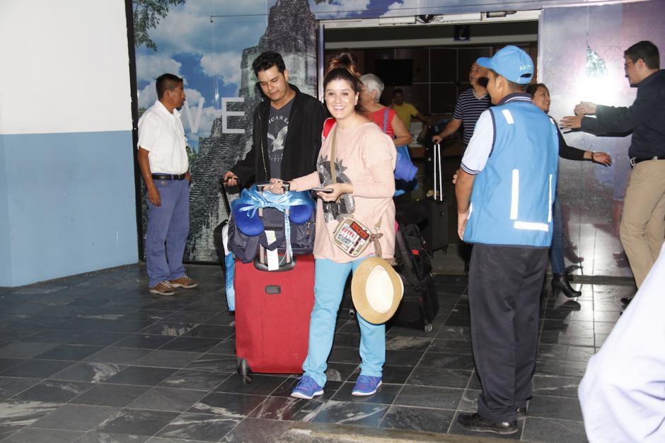 Este viernes regresó a Guatemala para prepararse y esperar una respuesta positiva desde Londres. (Foto: Carlos Duarte/Nuestro Diario)