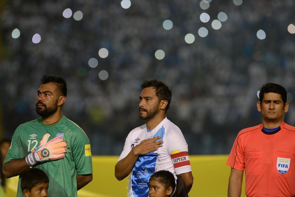 Motta ha sido el portero titular de la Selección en lo que va de la eliminatoria. (Foto: archivo/Soy502)