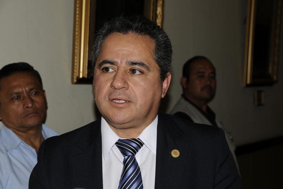 Centeno fue el primer Ministro de Finanzas del Partido Patriota. (Foto: Archivo/Soy502)