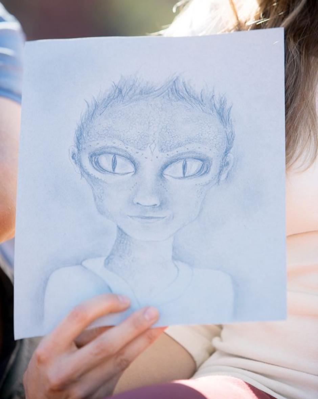 Las mujeres dicen que los extraterrestres tienen formas reptilianas y sus bebés también poseen ese tipo de rasgos. (Foto: mirror.co.uk)